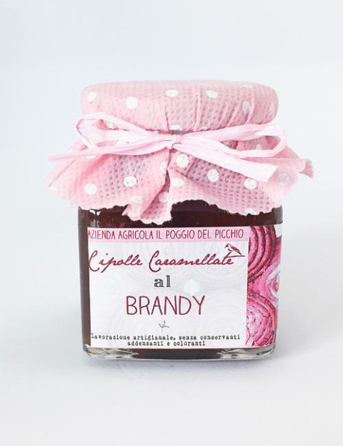Cipolle caramellate al brandy