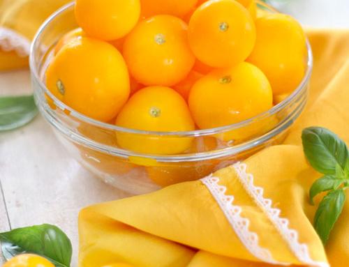 Pomodorino giallo, quando il colore conta
