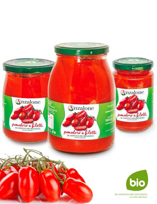 Pomodoro a filetti Bio
