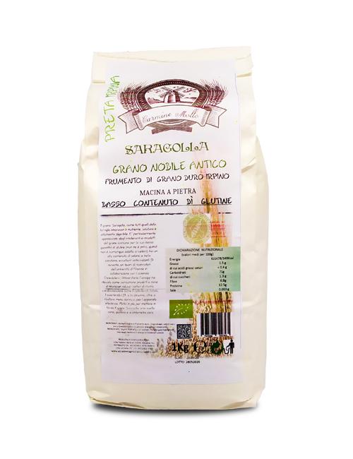 Farina biologica Saragolla